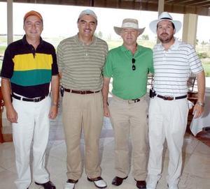 14052006  Fernando Gutiérrez, Jesús Tumoine, Rogelio Dingler y Eduardo Gama.
