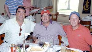 14052006 Javier Roel, Francisco Cruz y Eduardo Cepeda.