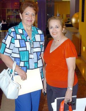 14052006  Lucero Palafox y Nancy de Lozano.