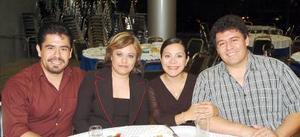 14052006  Marco Hernández, Gabriela Medina, Nancy Iliana López y Jorge Luis Hernández.