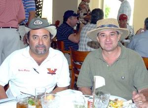 14052006  Martín Mariano Medina y Gabriel Viesca.