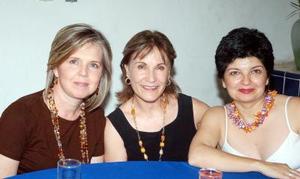 14052006  Silvia Garza, Lourdes Muñoz y Gloria Madero.