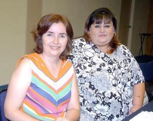 14052006  Martha López y Laura Aguilera.