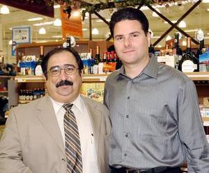 15052006  Eugenio Tumoine y Xavier Bracho.