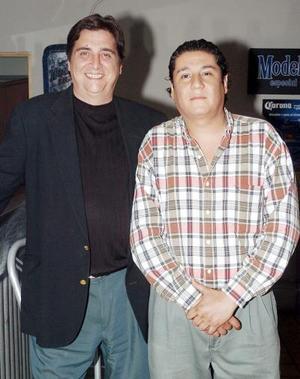 15052006  George Emilio Dubois Ferreiro y Guillermo Franco Jurado.