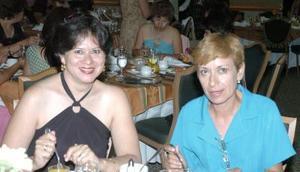 16052006  Bertha Castañeda y Guadalupe Esquivel