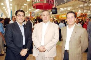 20052006   Marco Vázquez, José Manuel Sánchez y Ricardo Perera.