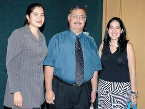 21052006  Nancy Ramírez, Sergio Antonio Corona e Idoia Leal.