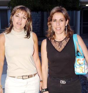 21052006  Nenabel González y Blanca Sonia Borrego.