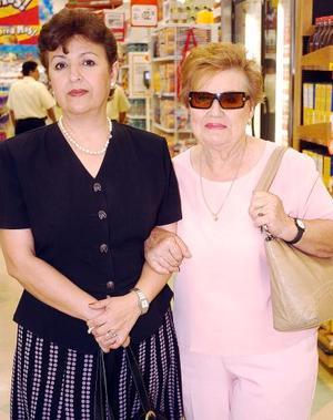 22052006  Josefina Vázquez de Pérez y Mercedes de Vázquez