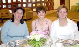 22052006  Norma Sada, Edith Ollivier y Lety Abusaid.