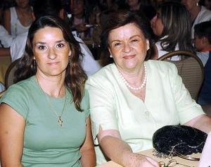 25052006  María Rodríguez y Ana Isabel Fernández.