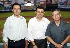 28052006  Francisco Solìs, Gerardo Pèrez Rojas y Roberto Trujillo.