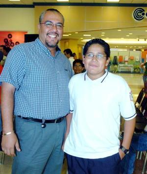 28052006  Gaspar Ovalle y su sobrino Armando Ovalle.