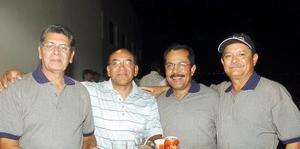 28052006  Pedro Agüero, Abel Reyna Mata, Jaime Reyna y Jaime Sonora.
