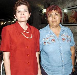 28052006  Rosa María Ramírez y Rosa Adelaida Flores.