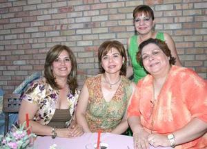 31052006  Flor de María Rivera de Wong, Silvia de Dávila, María Elena de Márquez y Licha de Dabdoub.