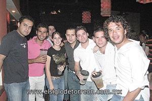 David Rincón, Alejandro Ramírez, Lily Ríos, Jorge Rosas, Manuel Carmona, Luiser Olhagaray y Rolly