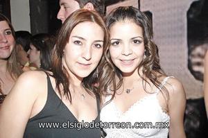 Marcela Muñoz y Lidia Cárdenas.