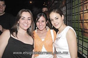 Estefanía Haro, María José López y Beatriz Arenal.