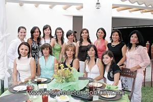 Bárbara, Mónica, Verónica, Ivette, Margarita, Katia, Susana, Claudia, Tere, Mayela, Chiquis, Marcela, Bety y Andrea.