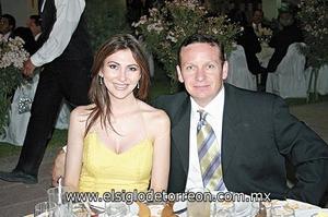 Sonia de Arriaga y Alberto Arriaga.