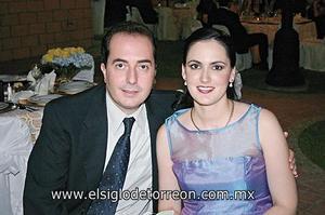 Gerardo Ruenes Moscoso y Mónica S. de Ruenes.