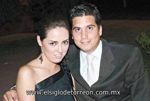 Selene Anguiano y Jorge del Bosque.