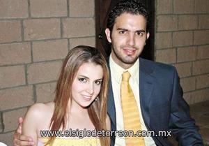 Norma Suárez Araujo y Andrés González - Treviño Herrera.