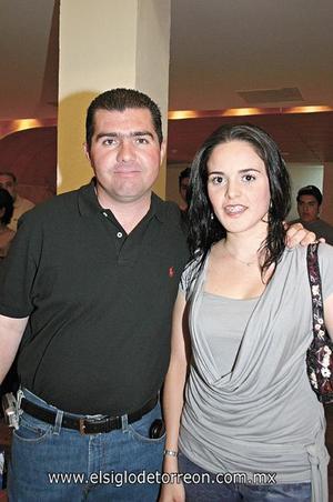 Roberto Dávila y Margarita Martínez.