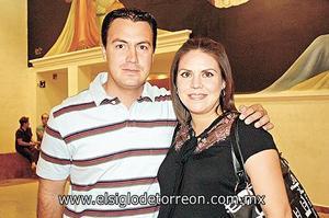 Luis Wolff y Carmen María de Wolff.