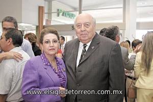 Marilú H. de Tohmé y Roberto Tohmé.