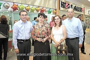 Javier Amarante y Sra., Guillermo Murra y Sra.