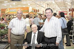 Gerardo Maldonado, Armando Martín Borque y Otón Zermeño.
