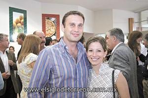 Alberto Sada y Marimar Arenas.