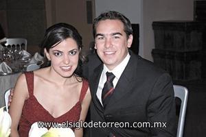Mariam Villalobos y David Obeso.