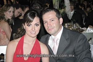 Martha Jaidar y Pablo Martínez.