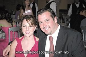 Sofía y Jorge Garza.