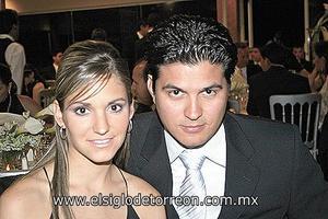Laura de la Parra y Humberto Baca.