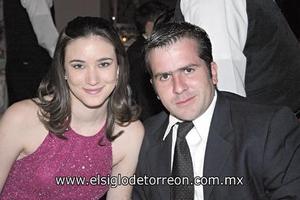 Alejandra Maisterrena y Diego de la Parra.