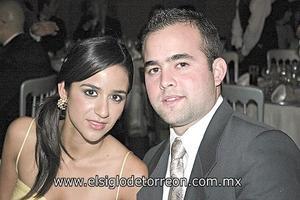 Dora Martínez y Nacho Martínez.