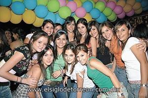Ana, Maleny, Cynthia, Ale, Katy, Melissa, Ale Jaime, Cocostello,