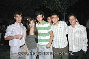Jorge García, Ana Lucía Soto, Mario Luna, Héctor González y Santiago Garza.