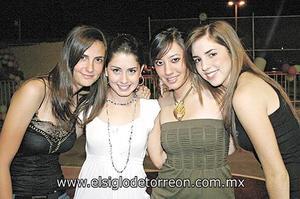 Mayte, Paulina, Stephy y Ana.