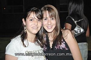 Gaby Duarte y Ana Paola Mainero.