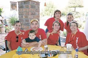 Familia González Montaña.