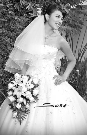 Srita. Gabriela Guadalupe Pámanes Castañón unió su vida en matrimonio a la del Sr.Gilberto Chacón Sánchez.  <p> <i>Estudio: Sosa</i>.