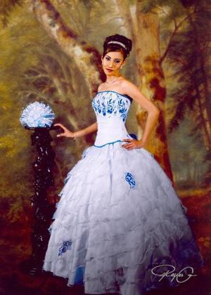 Srita. Luisa Fernanda Ocón Gándara, con motivo de sus XV años; ella es hija de los  señores Gilberto Ocón Arteaga y Yolanda Gándara de Ocón.