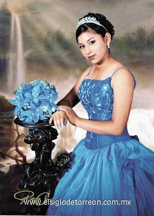 Diana Vanessa Sifuentes Puentes, celebrò sus quince años de vida.