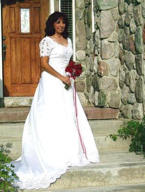Dra. Beatriz Álvarez García, el día de su boda con el Sr. Wayne Tuttle Davis.